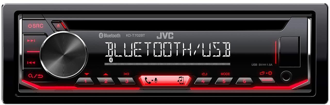 KD-T702BT Radioodtwarzacz samochodowy JVC