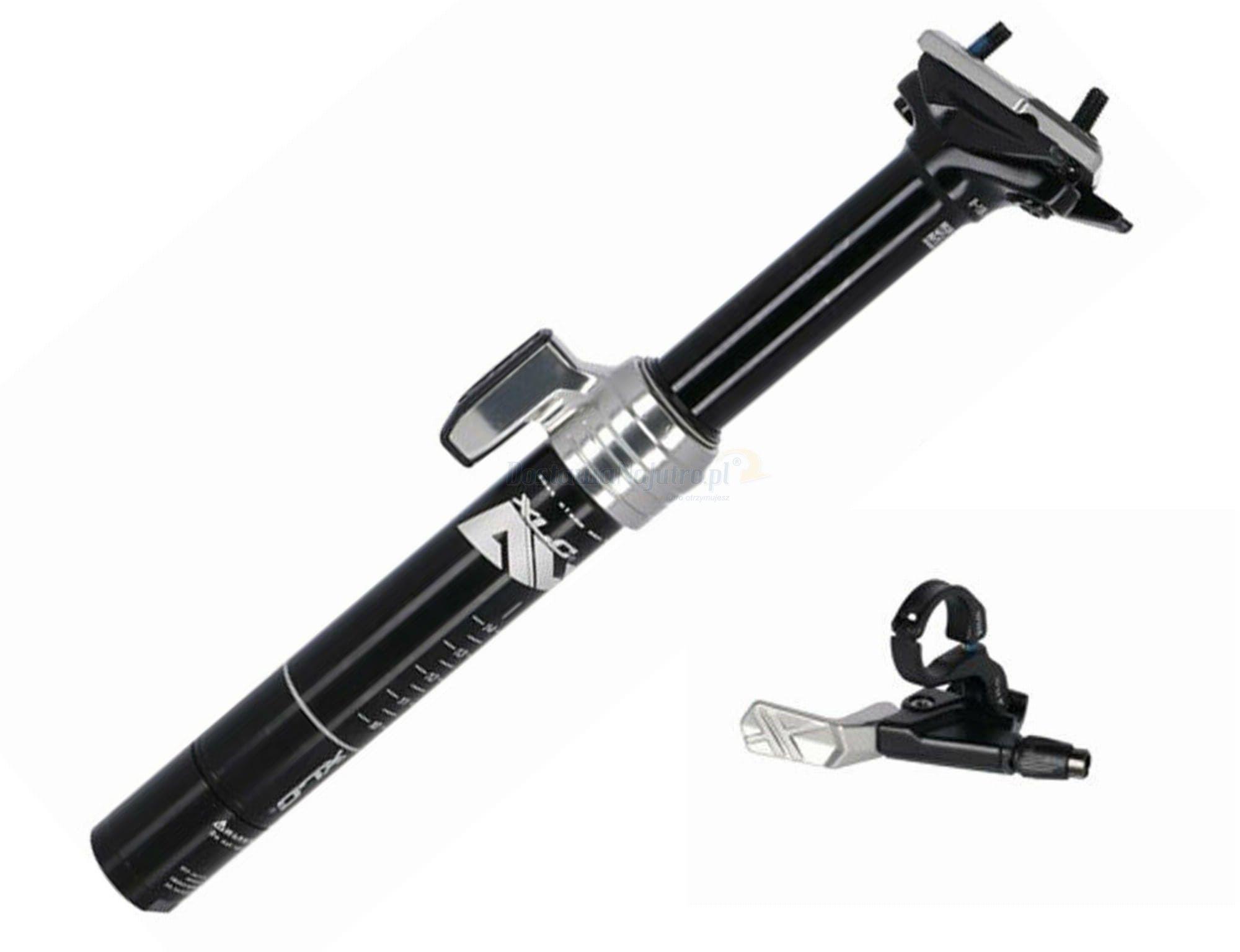 Teleskopowa sztyca XLC SP-T10B 125 mm pneumatyczna dropper manetka 30,9mm