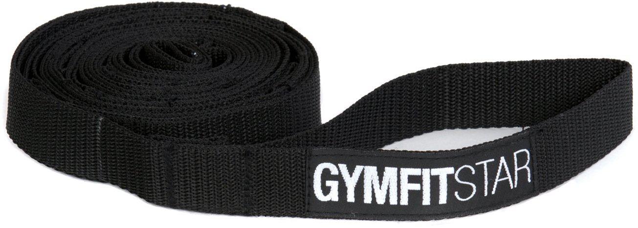 Yogistar Yogagurt Dynamic Stretching Strap, czarny