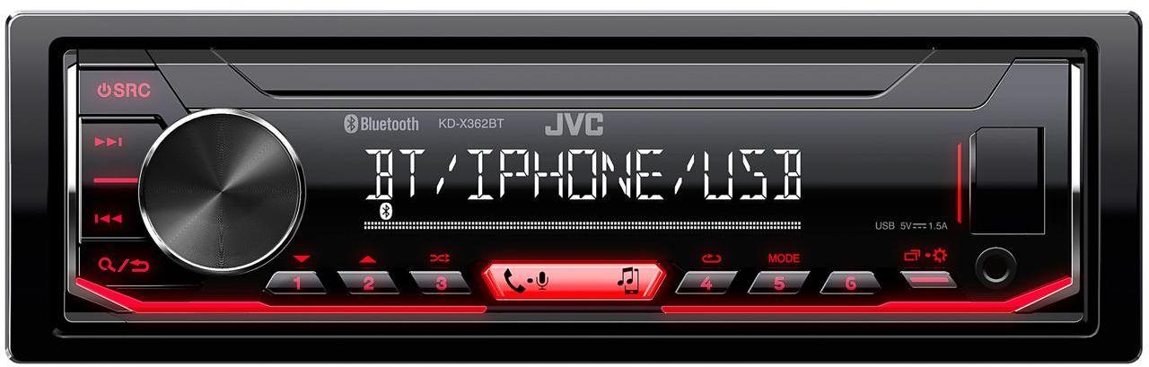 KD-X362BT Radioodtwarzacz samochodowy JVC