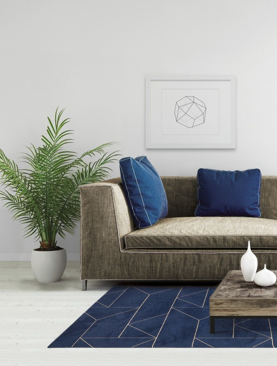 Dywan Carpet Decor Marlin Indigo