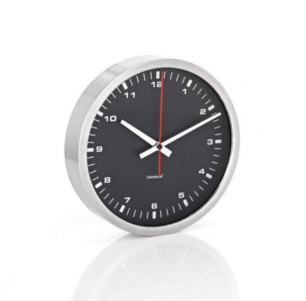 Blomus ERA Zegar Ścienny 24 cm - Czarny