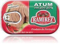 Portugalski stek z tuńczyka pikantny z piri-piri (papryczką chili) Ramirez 120g