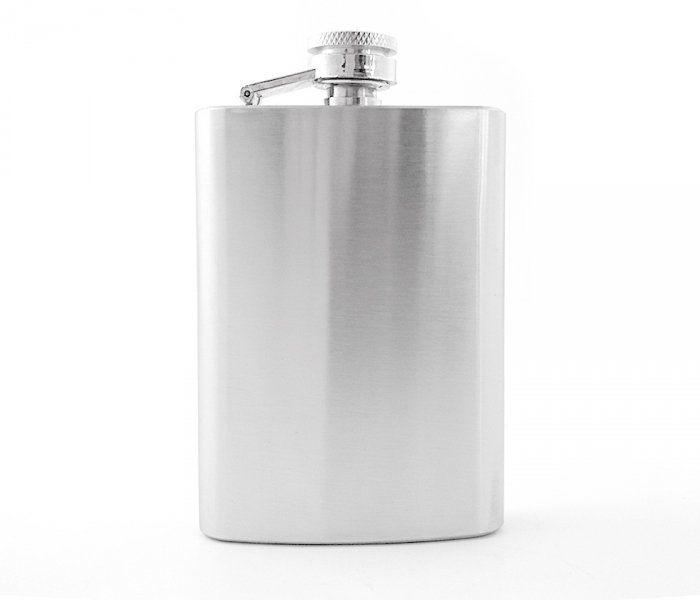 Piersiówka 120 ml FLASKY (stalowy)