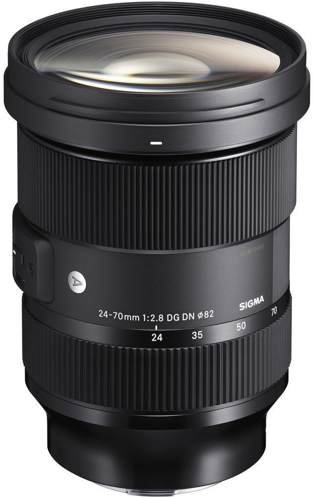 Sigma A 24-70mm f/2.8 DG DN - obiektyw zmiennoogniskowy do Sony E Sigma A 24-70mm f/2.8 DG DN