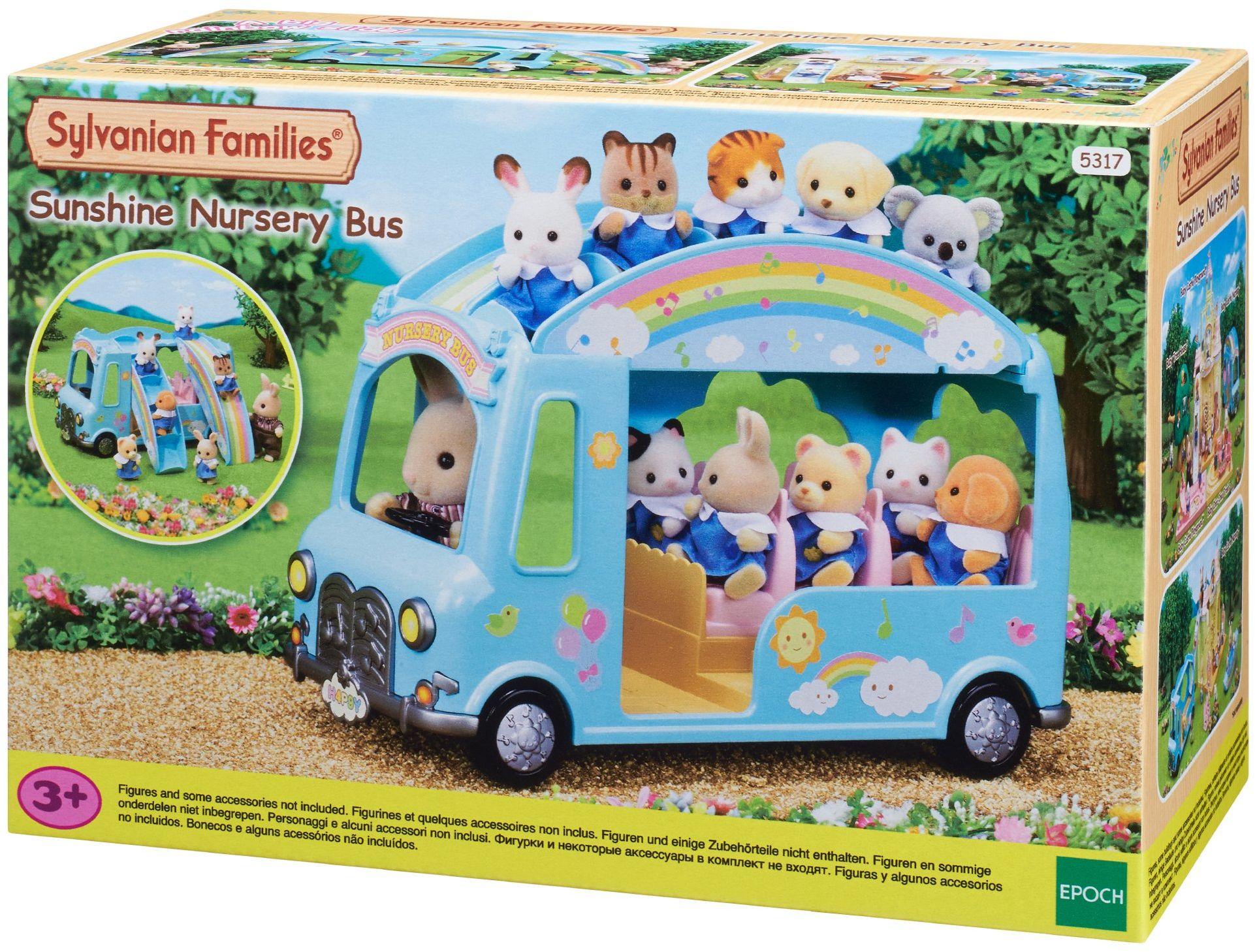 """Sylvanian Families - 5317 - Baby Bus """"światło słoneczne"""""""