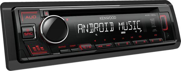 KDC-130UR Radioodtwarzacz samochodowy Kenwood