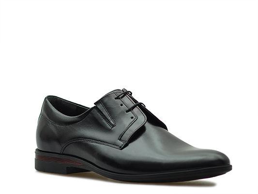 Pantofle Pan 948 Czarny/bordowy lico