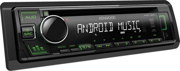 KDC-130UG Radioodtwarzacz samochodowy Kenwood