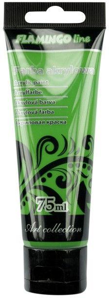 Farba akrylowa 75 ml Flamingo 369909 369909, Kolor: Fluo zielona