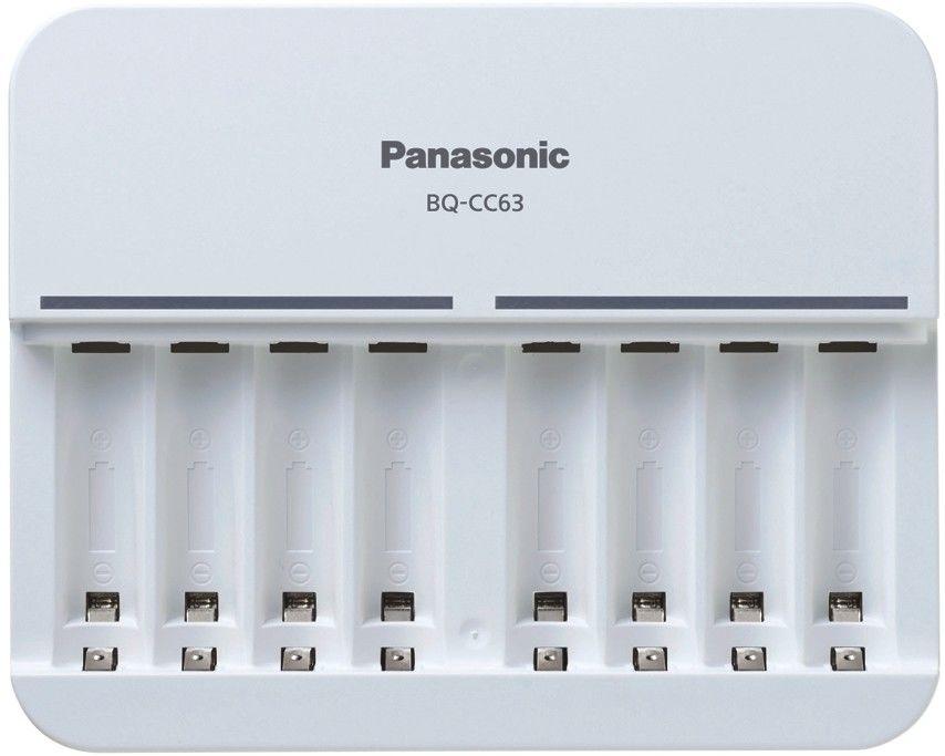 ŁADOWARKA PANASONIC BQ-CC63 na 8 akumulatorków