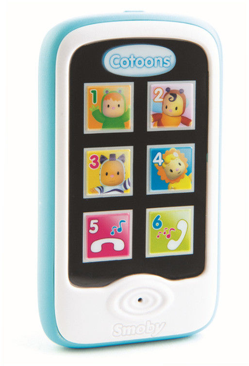 Smoby Cotoons - Smartfon niebieski 110208