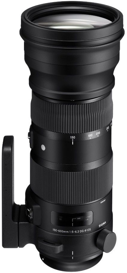 Obiektyw Sigma 150-600 mm f/5-6.3 S DG OS HSM Canon RATY 0%
