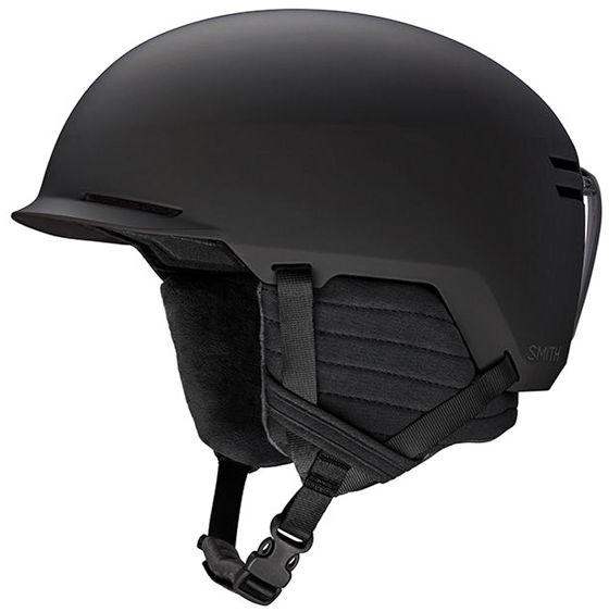 Smith SCOUT JR MATTE BLACK kask snowboardowy - 48/53