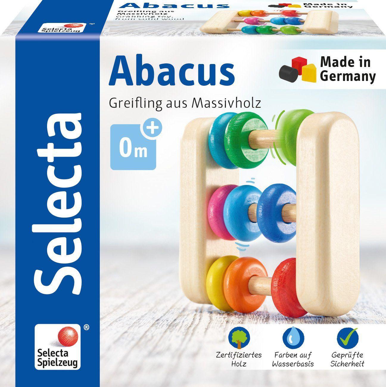Selecta 61033 Abacus, drewniany chwytak