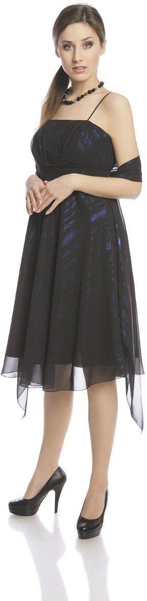 Sukienka FSU117 CZARNY CHABROWY