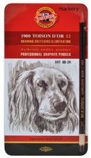 Koh i Noor Ołówki Grafitowe Art Toison D OR 8B-2H