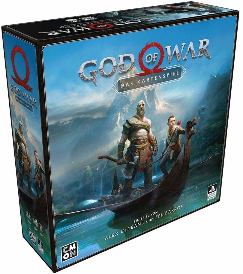 Cool Mini or Not CMND0117 God of War: gra karciana, wielokolorowa, kolorowa