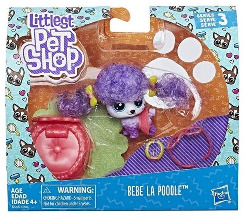 Littlest Pet Shop - Zwierzak Premium Pudel Bebe La Poodle E2426