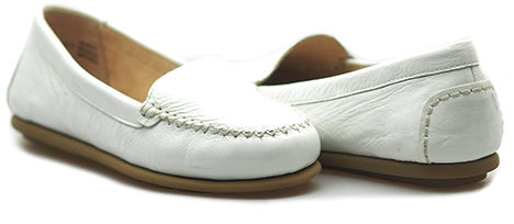 Mokasyny Caprice 9-24602-26 Białe lico