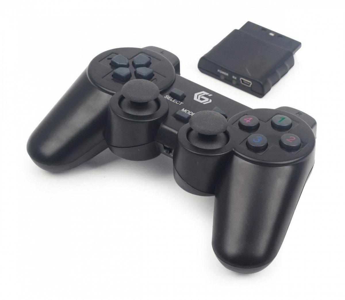 Gamepad bezprzewodowy Gembird JPD-WDV-01 (dual vibration)