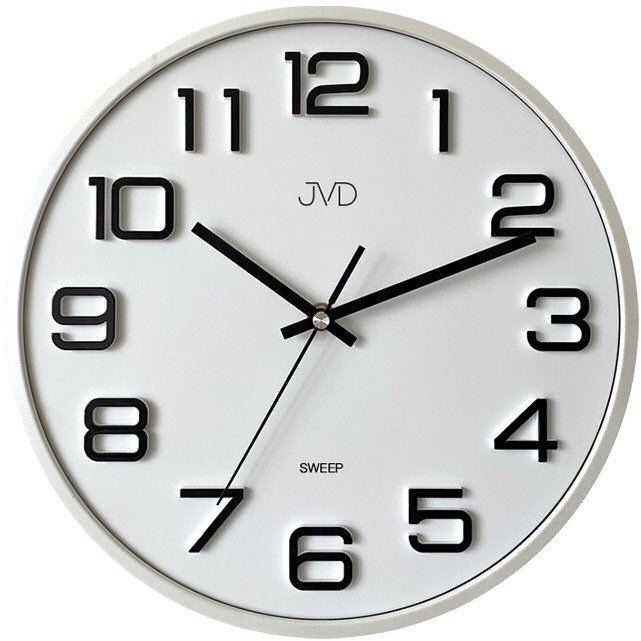 Zegar ścienny JVD HX2472.3 Cichy mechanizm 31 cm