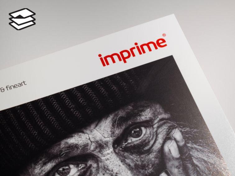 Papier IMPRIME Premium BWG310 Baryta White Gloss 310gsm - A3, 25 arkuszy (90550150730)