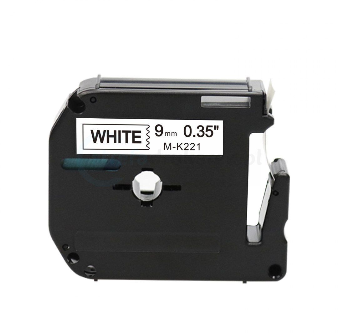 Taśma Brother M-K221 biała 9mm x 8m M-tape nielaminowana - zamiennik OSZCZĘDZAJ DO 80% - ZADZWOŃ! 730811399