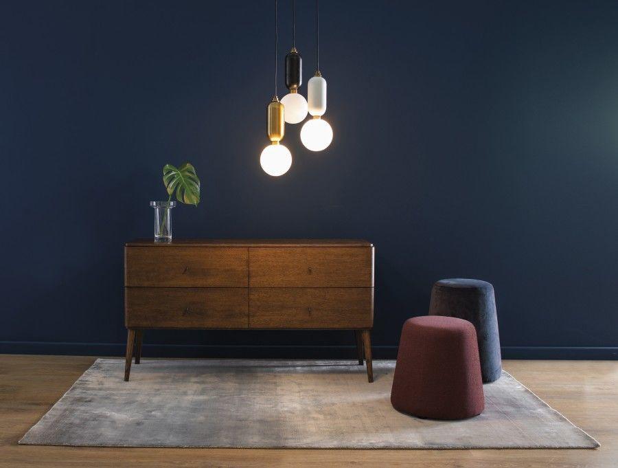 Dywan Handmade Carpet Decor Geos Smoky Blue, rękodzieło