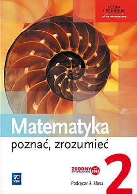 Matematyka LO 2 Poznac, zrozumiec Podr. ZR WSiP