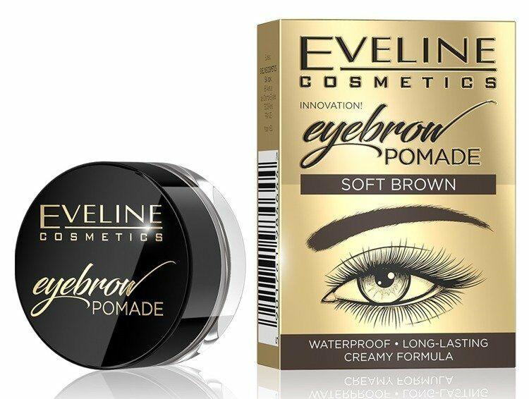 Eveline Pomada do brwi SOFT BROWN