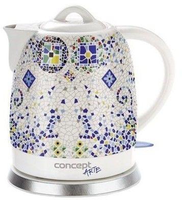 Czajnik elektryczny ceramiczny 1,5 l Concept RK-0020 tel. 697 256 410 - zadzwoń, zapytaj, negocjuj!