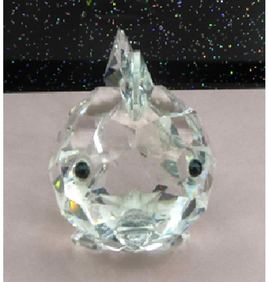 Figurka szklana ryba