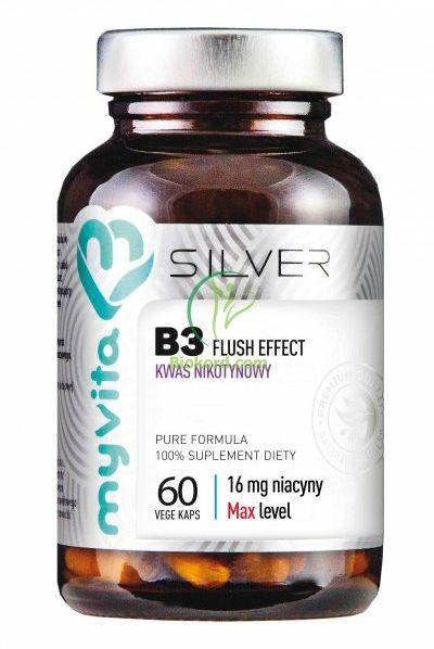 Witamina B3 16 mg (Kwas) SILVER PURE, Myvita