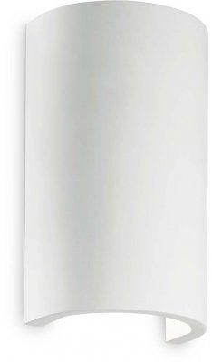 Kinkiet FLASH GESSO AP1 ROUND 214696 - Ideal Lux
