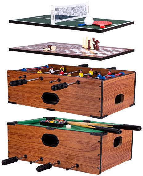 Stół do gier Mini 5w1 51x31,5 cm Worker