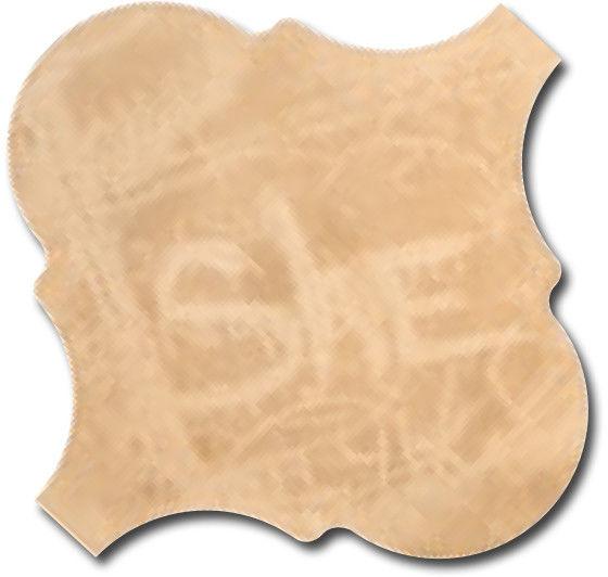 Curvytile Cotto Chalk Wheat 26,5x26,5