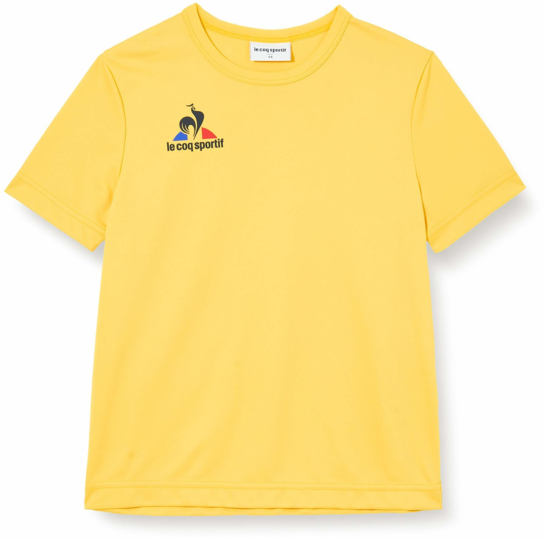 Le Coq Sportif damska N 1 Maillot Match Enfant Mc koszulka, oryginalna Jaune, 14A