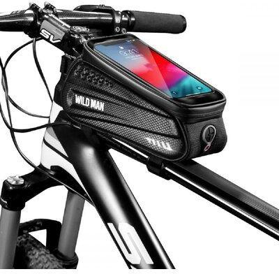 """Sakwa rowerowa WILDMAN Hardpouch Bike Mount """"L"""" Czarny"""