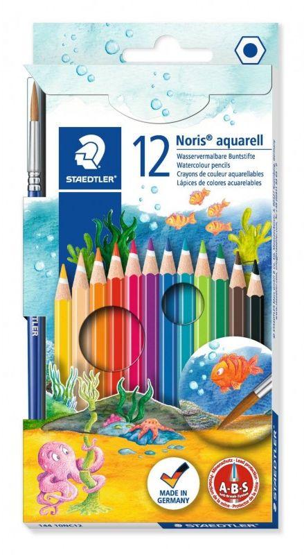 Kredki akwarelowe Noris Club 12 kolorów Staedtler S14410NC12
