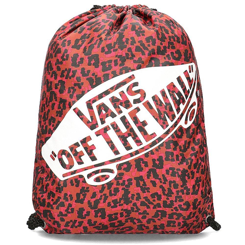Vans Wild Leopard - Worek Damski - VN000SUFUY11 - Wielokolorowy Czerwony