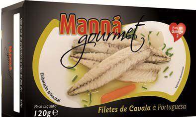 Portugalskie filety z makreli atlantyckiej po portugalsku 120g Manná GOURMET