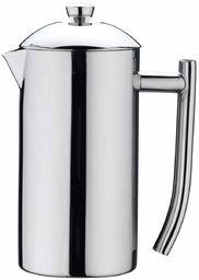Café Stål CMD-03MS zaparzacz do kawy z podwójnymi ściankami ze stali nierdzewnej 18/10  powierzchnia nielustrzana, 2 filiżanki do mokki, 0,26 l