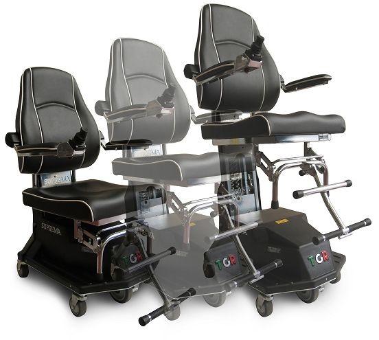 Elektryczny wózek inwalidzki SUPREMA (pokojowy z windą) TGR
