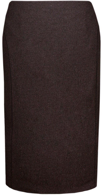 Spódnica FSP450 CZEKOLADOWY CIEMNY