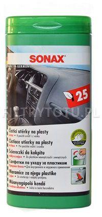 SONAX Ściereczki do kokpitu 25 szt. (412100)