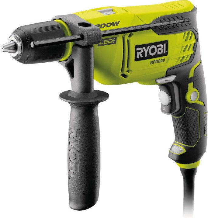 Ryobi / Elektronarzędzia / Przewodowe / Wiertarki Wiertarka udarowa Ryobi RPD800-K 800 W 5133002018