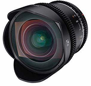 Samyang 14 mm T3.1 VDSLR II ręczny obiektyw wideo do kamery Canon DSLR