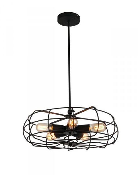 Lampa wisząca Fan AZ2532 AZzardo dekoracyjna oprawa w stylu design