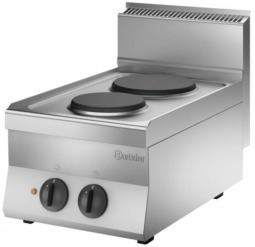 Bartscher Kuchnia elektryczna nastawna 2 płytowa 4100W - kod 115005